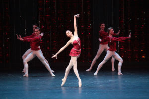 Bolshoi Ballet Soloist Olga Marchenkova in Rubies from JEWELS